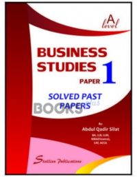 a level business studies paper 1 solved past papers abdul qadir silat