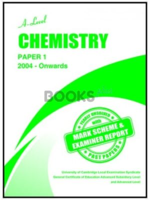a level chemistry paper 1 2004 onwards unsolved past papers