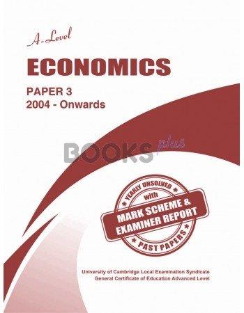 A Level Economics Paper 3 Unsolved Past Papers Nov 2017