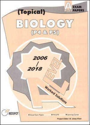 A Level Biology P4 P5 Topical redspot 2018 2019