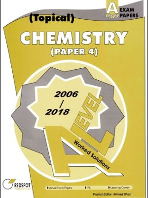 A Level Chemistry P4 Topical redspot 2018 2019
