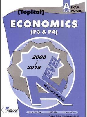 A Level Economics P3 P4 redspot 2018 2019