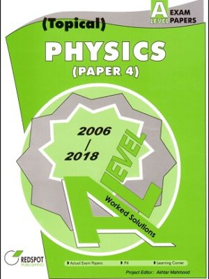 A Level Physics P4 Topical Redspot 2018 2019