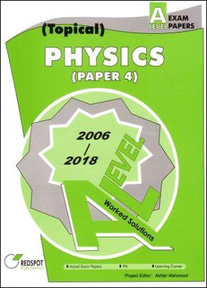 A Level Physics P4 Topical Redspot 2018 2019