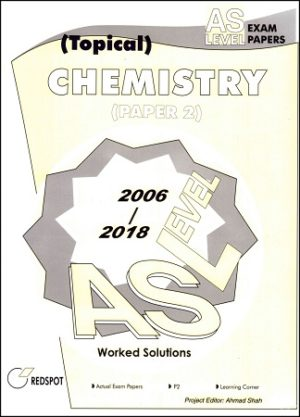 AS Level Chemistry P2 Topical 2018 2019 redspot