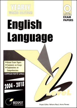 O Level English Language Yearly redspot 2018 2019