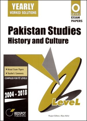 O Level Pakistan Studies History and Culture Yearly redspot 2018 2019
