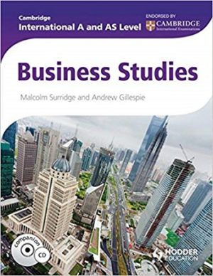 Cambridge International AS A Level Business Hodder
