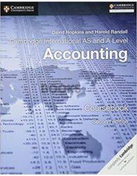 Cambridge International AS & A Level Accounting Coursebook hopkins randall