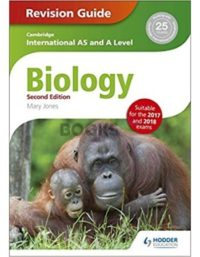 Cambridge International AS & A Level Biology Revision Guide 2nd Edition Hodder Education mary jones