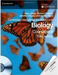 Cambridge International AS & A Level Biology Coursebook 3rd Edition by Mary Jones 2012 mary jones fosbery taylor