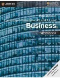 Cambridge International AS & A Level Business Workbook Peter Stimpson