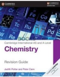 Cambridge International AS & A Level Chemistry Revision Guide Potter Cann