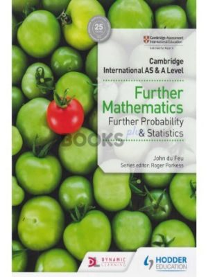 Cambridge International AS & A Level Further Mathematics Further Probability & Statistics feu