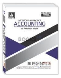 Accounting A2 Level Theory and Parctice nauman malik