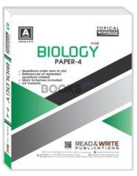 Biology A Level Paper 4 Workbook