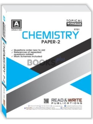 Chemistry A Level Paper 2 Topical Workbook