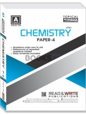 Chemistry A Level Paper 4 Topical Workbook