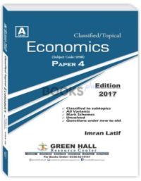 Economics A2 Level Paper 4 Classified Topical