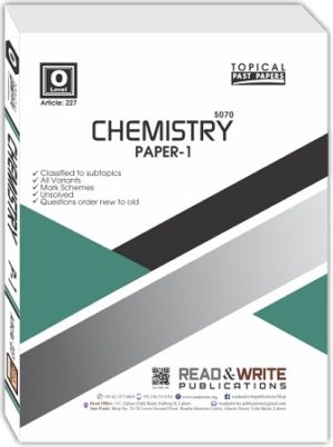 Chemistry O Level P1 MCQs Topical