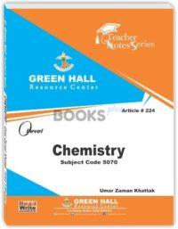 Chemistry O Level Notes umar zaman khattak