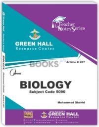 Biology O Level Notes by Muhammad Shahid