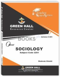 Sociology O Level Notes by Shahraiz Chishti
