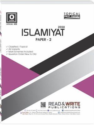 Islamiyat O Level P2 Topical Unsolved