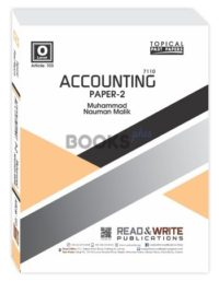 Accounting O Level P2 Topical Yearly muhammad nauman ali