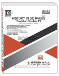 Pakistan Studies Paper 1 History in 50 pages