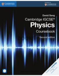 Cambridge IGCSE Physics Coursebook 2nd Edition david sang