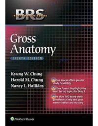 BRS Gross Anatomy 8th Edition
