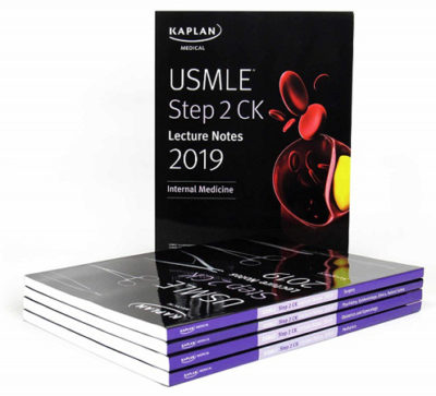 Kaplan USMLE Step 2 CK Lecture Notes 5 book set 2019