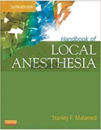 Handbook of Local Anesthesia 6th Edition Stanley Malamed
