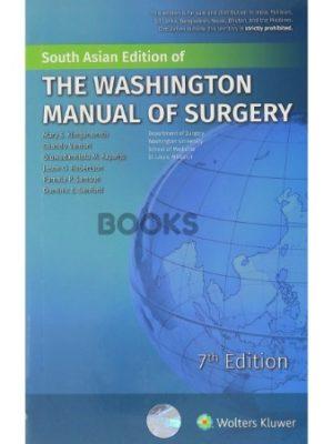The Washington Manual of Surgery 7th South Asian Edition