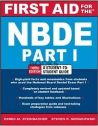 First Aid for NBDE Part 1 3rd Edition