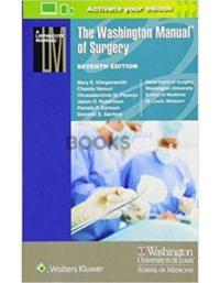 The Washington Manual of Surgery 7th Edition