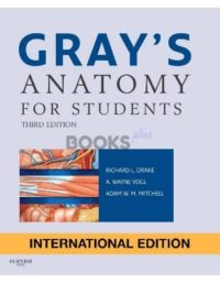 Gray's Anatomy for Students 3rd Edition International