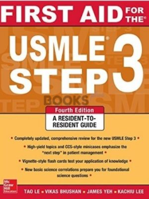 First Aid for the USMLE Step 3 4th Edition