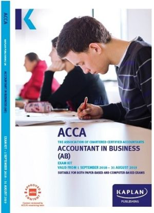 kaplan acca accountant in business AB exam kit 2019