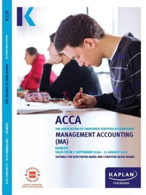 kaplan acca management accounting ma 2019 exam kit