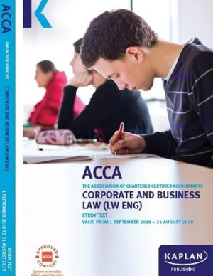 kaplan acca corporate and business law LW ENG study text 2019