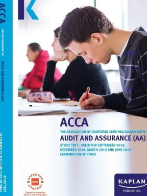 kaplan acca audit and assurance study Text 2019