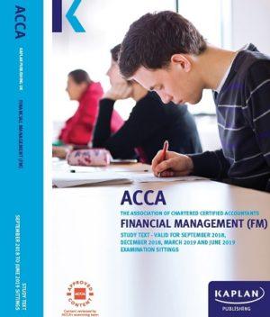 kaplan acca financial management FM 2019 Study text