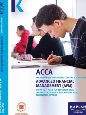 kaplan acca advanced financial management afm study text 2019