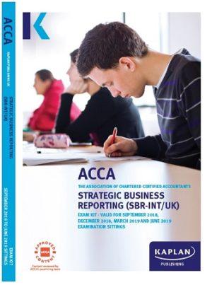 18078 Kaplan ACCA Strategic Business Reporting Exam Kit 2019