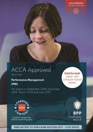 BPP ACCA Performance Management PM Study Text 2019