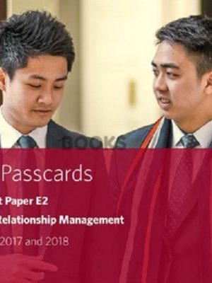 bpp cima e2 project and relationship management passcards 2018