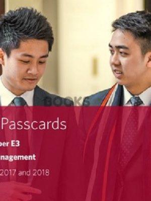 bpp cima e3 strategic management passcards 2018