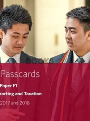 bpp cima f1 financial reporting and taxation passcards 2018